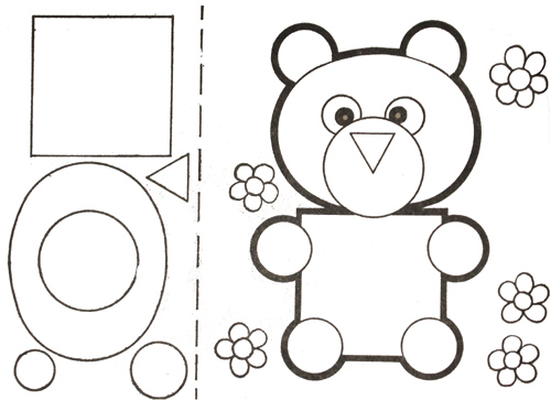 Картинки из геометрических фигур. Секция Геометрии.
