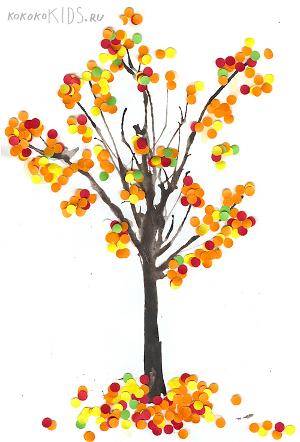 рисунки на тему осень