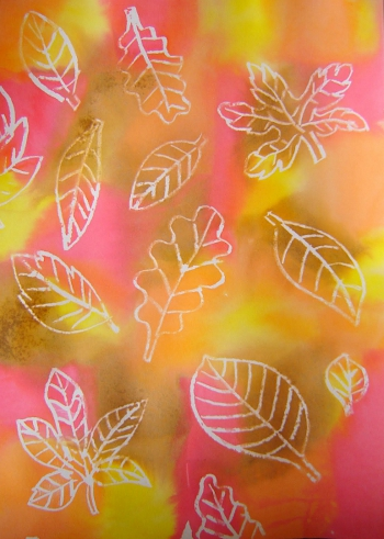 рисуем осень